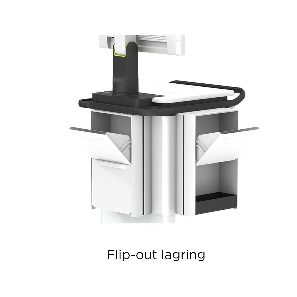 Flip-out Storage
